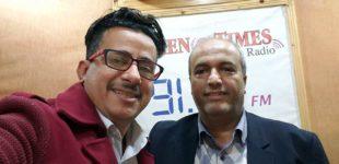 يمن تايمز تتفقد أحوال الزملاء الإعلاميين من خلال زملاء المهنة