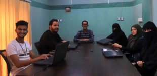 يمن تايمز تستقبل دفعة جديدة من طلاب الإعلام