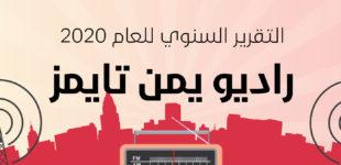 راديو يمن تايمز يصدر تقريره السنوي للعام 2020